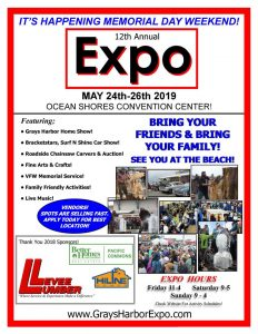 2019 Grays County Harbor Expo poster.