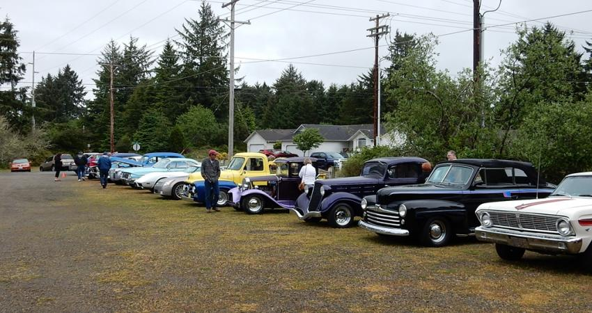 Ocean Shores classic car show Clam Digger Rod Run.
