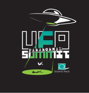 UFO Paranormal Summit logo.